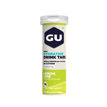 GU Hydration Drink tabs - Lemon-lime smag