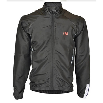 Vangárd Windbreaker i sort